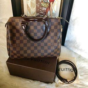 Louis Vuitton Speedy 25 and Strap